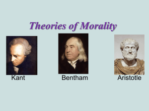 Theories of Morality - Fort Thomas Independent Schools