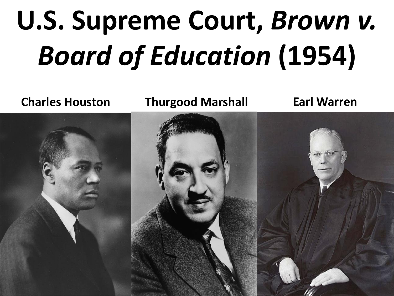 The Brown V Board Of Education Court >> U S Supreme Court Brown V Board Of Education