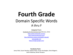 4thDomainSpecificA-F