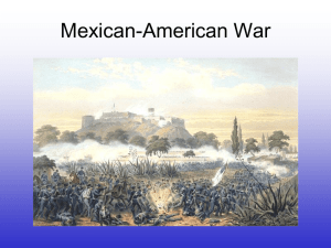 Mexican-American War by Ryan Rhee