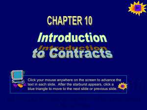 Powerpoint for Chapter 10