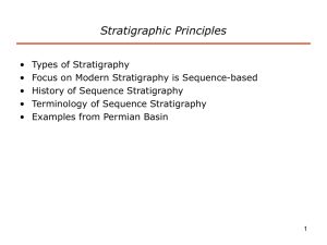 Introduction to Sequence Stratigraphy
