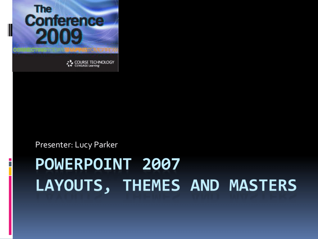 powerpoint 2007 design themes