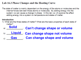 10.3 – phase change lab KEY
