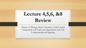 Lecture 1-8 Review