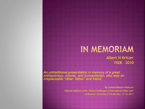 In Memoriam - CISG Database