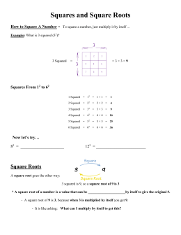 Pdf File Example To Find The Square Root Of 3