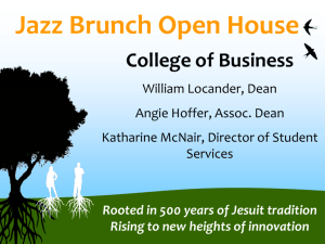 Jazz Brunch - Loyola University New Orleans