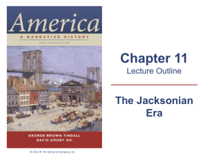 The Jacksonian Impulse - SEHS