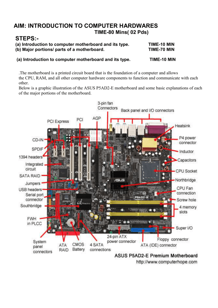 what motherboard is in my computer