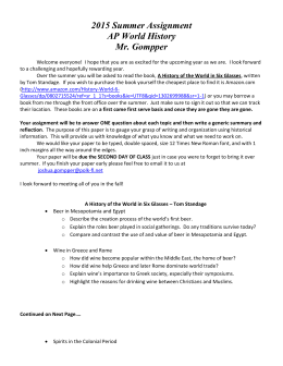 ap world summer assignment Ap us history summer assignment  one of these popular myths is that the pilgrims and other settlers in the massachusetts colony came to the new world for.