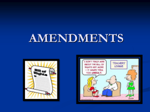 5 Amendments