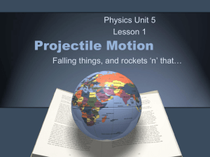 Projectile Motion - science-b