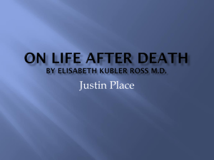 On Life After Death By Elisabeth Kubler Ross M.D.