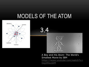 13 Models of the Atom