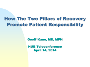 Promoting Patient Responsibility
