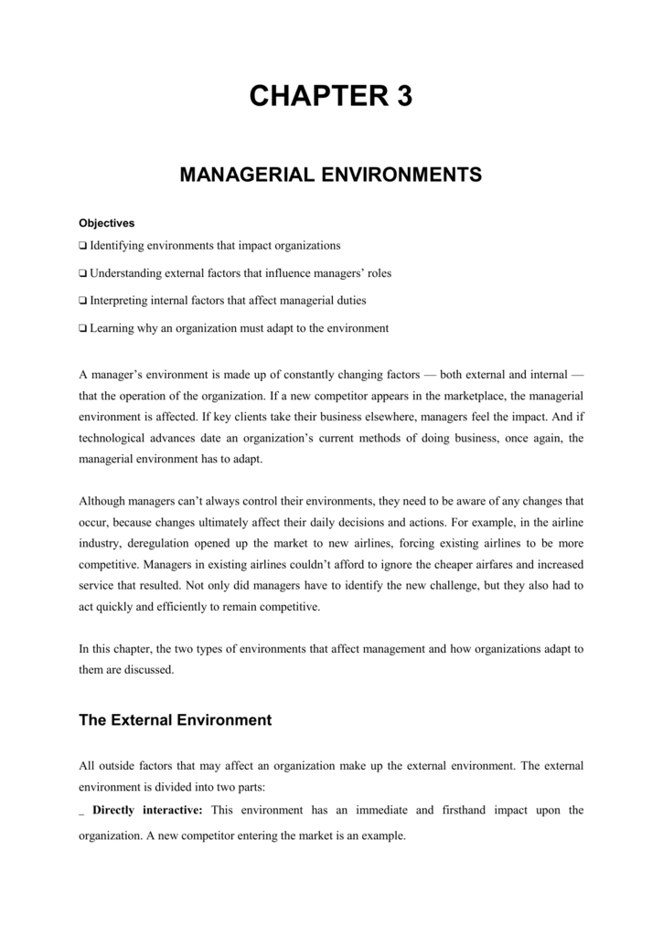 environmental job description