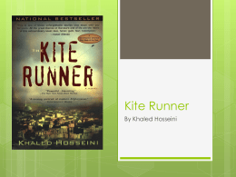 Kite Runner - Edublogs @ Macomb ISD