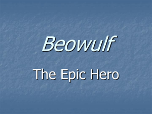 On Beowulf - Powerpoint