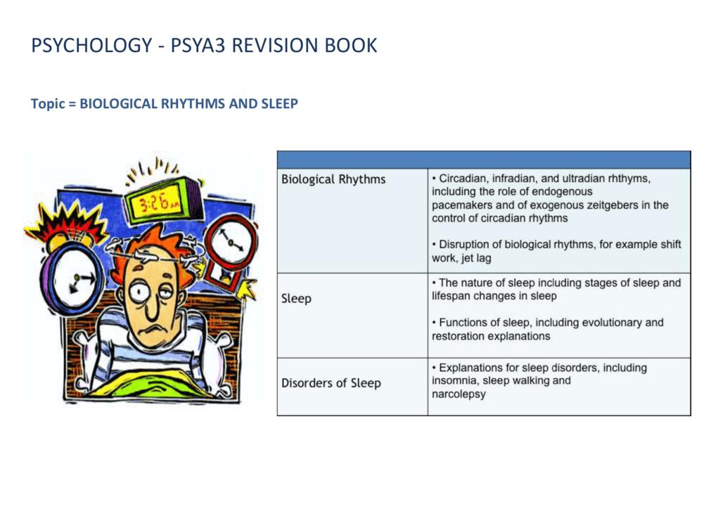 sleepwalking essay psya3