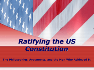 US History Lesson Plan – Ratification – 10-27-08