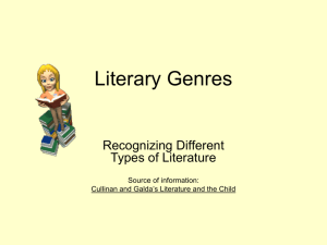 Powerpoint on genres