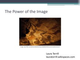 The Power of the Image - Laura Terrill