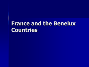 France and the Benelux Countries