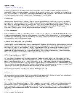 chapter 8 outline ap government rh studylib net Political Party Organization Cartoon Political Party Organization