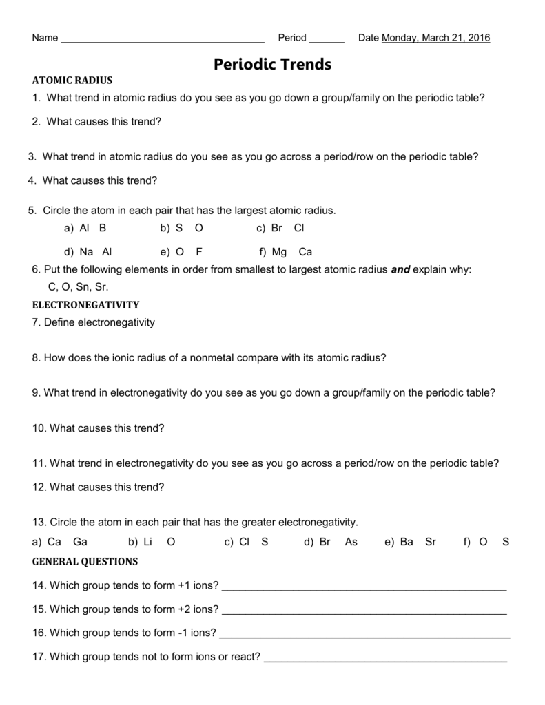 1454015077 periodictrendsworksheet robcynllc Choice Image