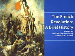 a historical analysis of the french revolution The french revolution of 1789-1799 was one of the most important events in the history of the world the revolution led to many changes in france, which at the time of the revolution, was the most powerful state in europe.