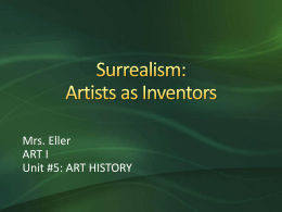 Surrealism: Artists as Inventors
