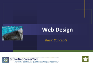 Web Design - CHSSTechnology