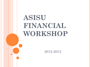 asisu financial workshop