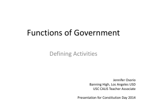 ppt: Functions of Government