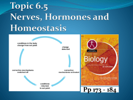 6.5 Nerves Hormones and Homeostasis - IBDPBiology-Dnl