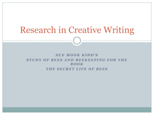Research in Creative Writing