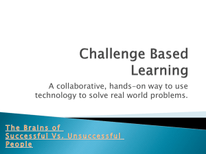 Challenge Based Learning
