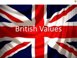 British Values - St Aldhelm's Academy