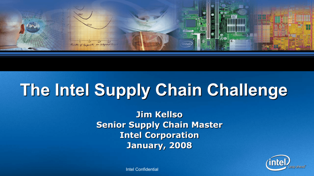 Intel's Supply Network