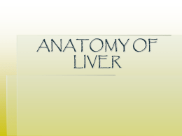 LIVER - CHE Yr 1 January