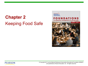 Chapter 2 | Keeping Food Safe