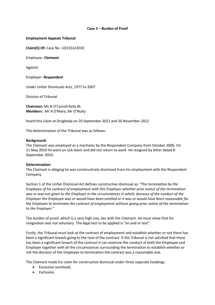 Wrongful Termination Letter Of Appeal from s3.studylib.net