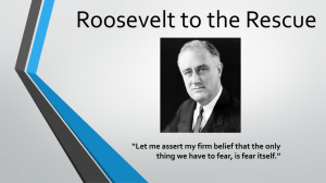 Roosevelt to the Rescue