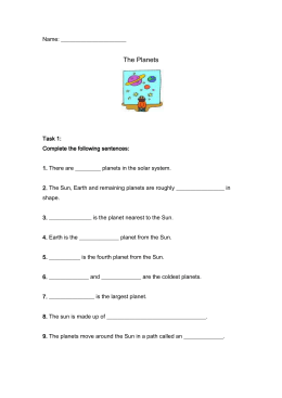 Science Worksheet - Primary Resources