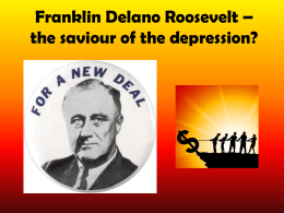 11. FDR and the New Deal