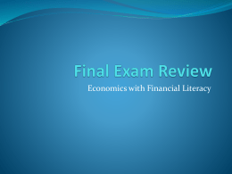 Module 1 Exam Review