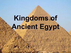 Kingdoms of Ancient Egypt