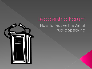 Leadership Forum