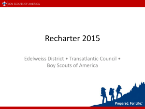 RECHARTER 2015 UPDATED Training ppt.